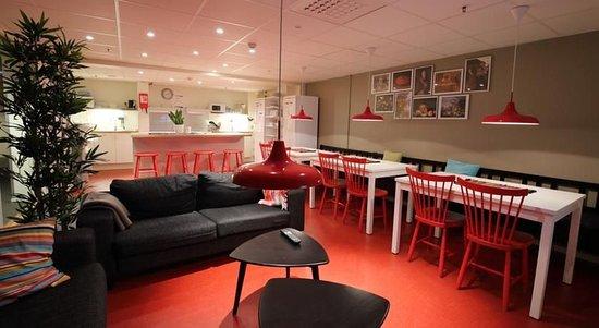 STF/IYHF Gardet: Lounge- Hotel STF Gärdet