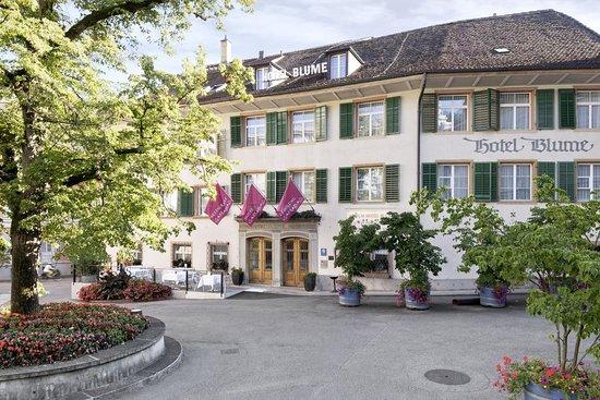 Atrium Hotel Blume: Front/ Entrance