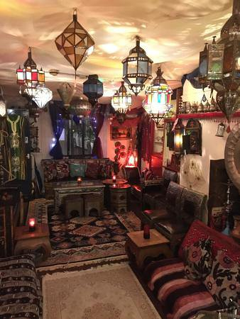 Exceptionnel Al Farid Restaurant: First Floor: Moroccan Style Seat