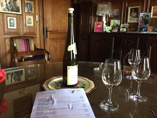 Kientzheim, Frankrike: Winbach en fantastisk vingård