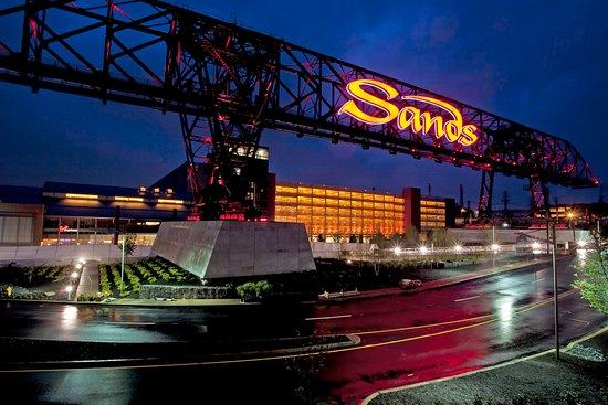 Sands Casino Resort: Exterior with Ore Bridge