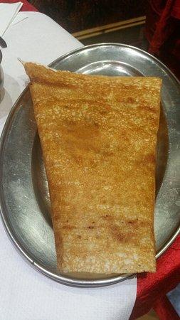 Apollo Banana Leaf : Great Pancake with amazing fillings