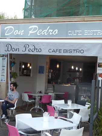 Don Pedro Cafe Bistro: External view