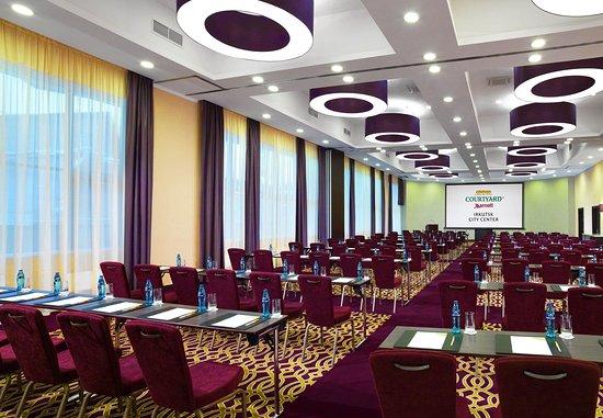 Courtyard Irkutsk City Center: Grand Ballroom Conference Setup