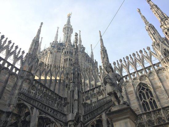Sulle terrazze del Duomo - Picture of Duomo Rooftops, Milan ...