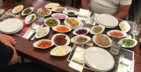 Restaurant Itzik Hagadol in Old Jaffa