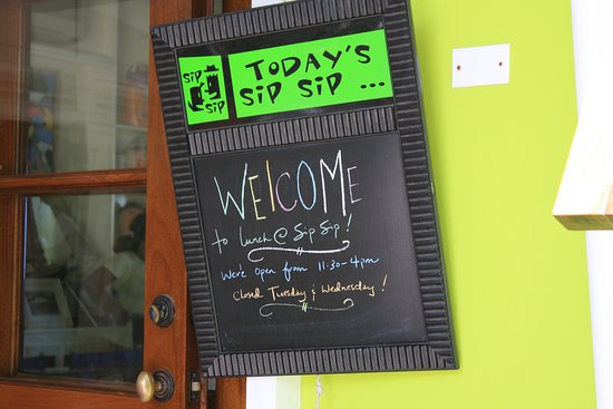Sip Sip: Welcome Board