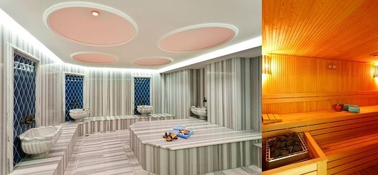 Neorion Hotel: Hammam and sauna