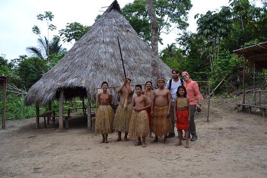 Cumaceba Lodge: Tribu nativa yahuar
