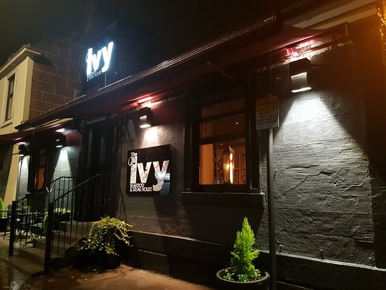 The Ivy Bothwell seafood and steakhouse restauant