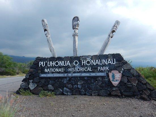 Honaunau, Hawaje: Entrance