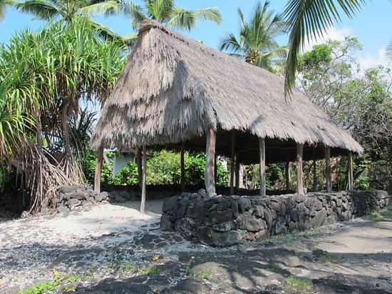 Honaunau, Hawaje: Hut