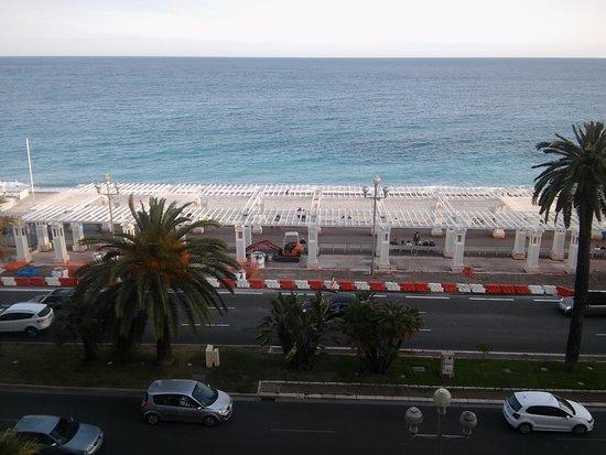 Hotel Le Royal: Vista desde la ventana de la habitación