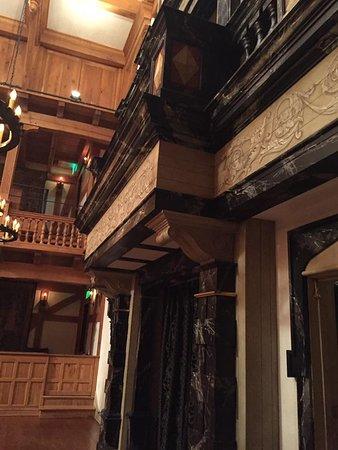 Staunton, VA: The Balcony on the stage