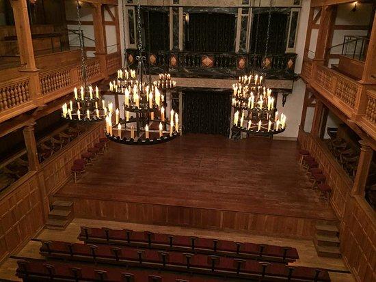 Staunton, VA: Stage from the balcony