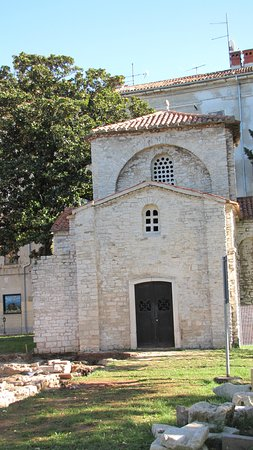 Chapel of St. Mary Formoza: vista dall'esterno