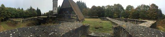 Burg Eisenberg: Inside the ruin