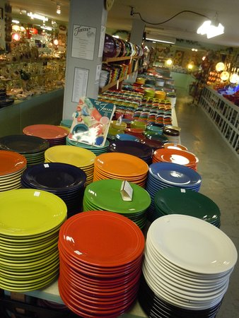 Fiesta Dinnerware at Holley Ross Pottery good prices as far as the eye can see & Fiesta Dinnerware at Holley Ross Pottery good prices as far as the ...
