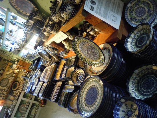 Cresco, PA: Polish Pottery deals at Holley Ross Pottery!