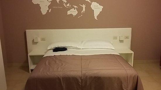 Castello D'Argile, Italia: Letto matrimoniale