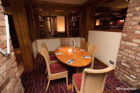 Pencoed, UK: An example of some of the lovely seating areas within our restaurant