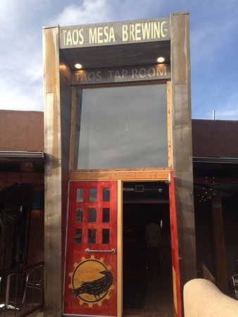 El Prado, NM: Outside Taos Mesa Brewing