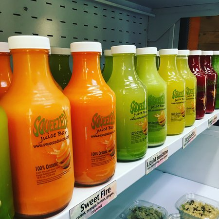 Rio Rancho, Nowy Meksyk: Organic juices. No added water, no added sugars, no preservatives. raw food, real food, no junk!