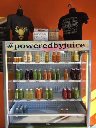 Rio Rancho, NM: The cold-pressed juice case is stocked fresh daily.