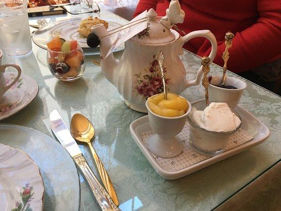 Enchanted Rose Tea Parlour San Dimas Menu Prices