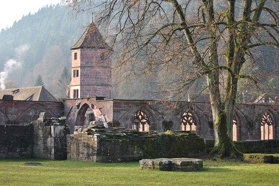 Kloster Hirsau: Teil der Klosterruine