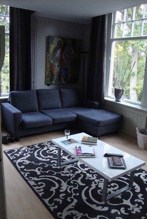 Bergen, Niederlande: Comfortabele zithoek