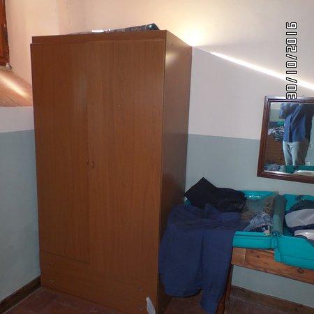 Vagliagli, Ιταλία: armadio camera