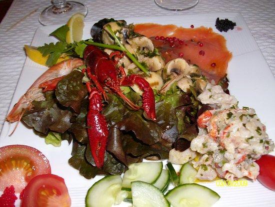Portail de l'Olivier: Heerlijke gerechten.