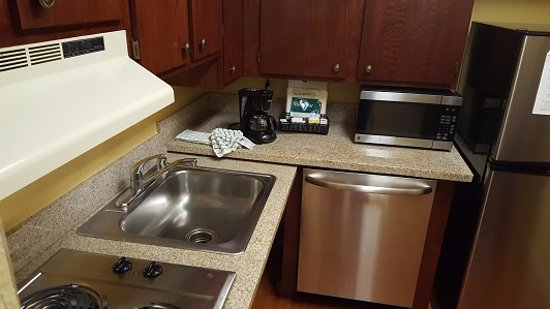 Homewood Suites By Hilton Houston   Clear Lake NASA: Mini Kitchens Have All  Th Ebases