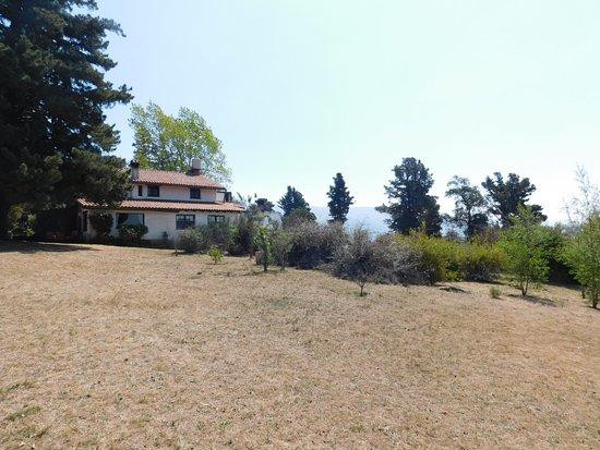 Hosteria La Domanda: La hostería tiene una vista maravillosa hacia el valle y la montaña