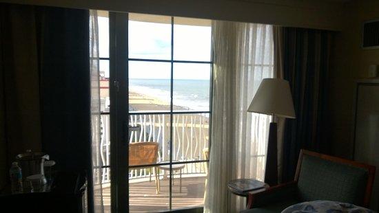 Hilton Virginia Beach Oceanfront: Schöne Aussicht