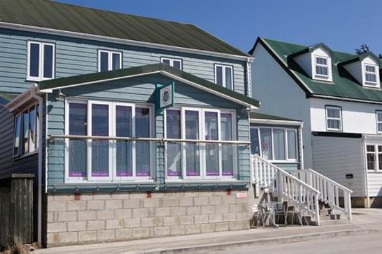 Entrance - Picture of The Waterfront Boutique Hotel, East Falkland - Tripadvisor