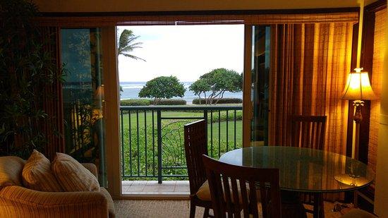 Waipouli Beach Resort: Living room- G206