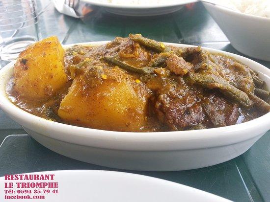 Matoury, جيانا الفرنسية: Colombo de porc
