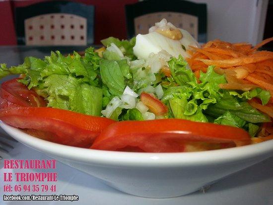 Matoury, Gujana Francuska: Salade composée