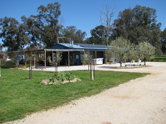 Mudgee, Australia: Karrabool Olives Store & Coffee shop is located on a working olive grove