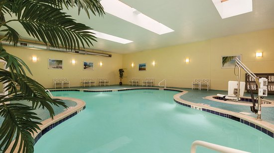 Holiday Inn Ocean City Our Heated Indoor Pool With 2 Hot Tubs And A Children S