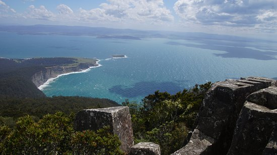 Tasmania, Australia: From on top of Bishop and Clerk