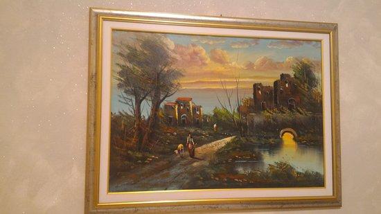 Hotel Ricci : Картина маслом