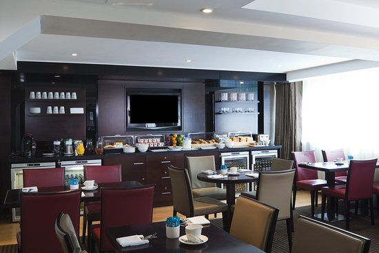 Crowne Plaza Club Room Manchester