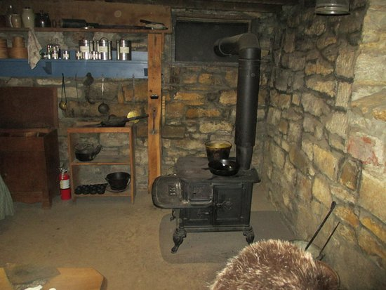 Mahaffie Stagecoach Stop & Farm Historic Site: kitchen