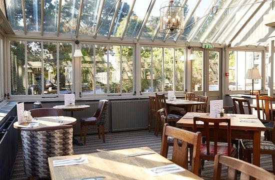 Sticklepath, UK: Conservatory
