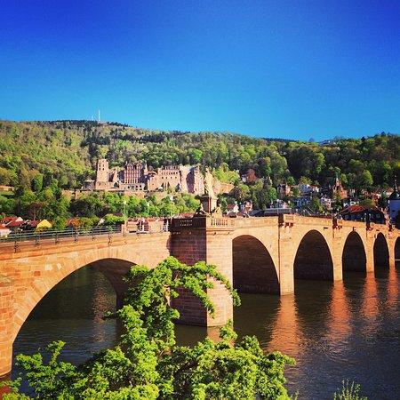 old bridge of Heidelberg Picture of Philosophers Way