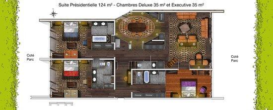 Bellevue, Schweiz: Suite Presidentielle Connect EDeluxe Et Executive