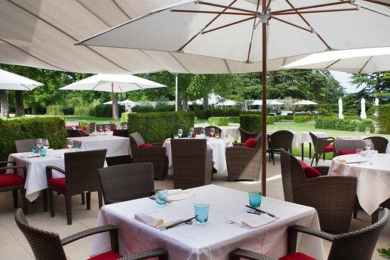 Bellevue, Schweiz: Tse Fung Restaurant - Terrace